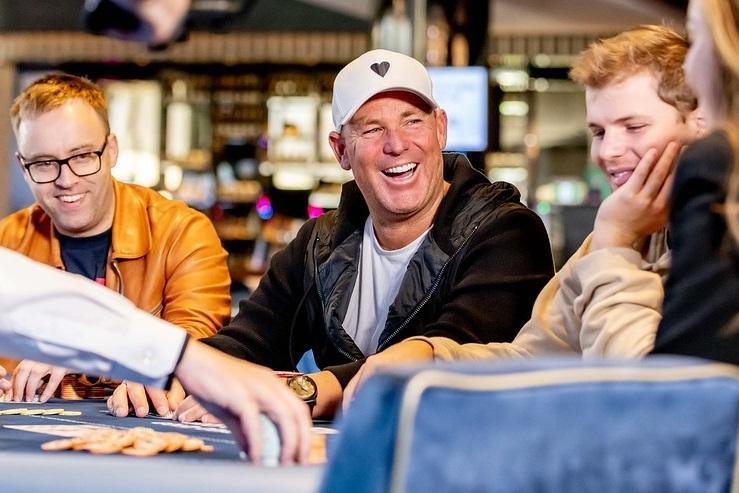 Shane Warne talks Poker in Australia and a life playing cards
