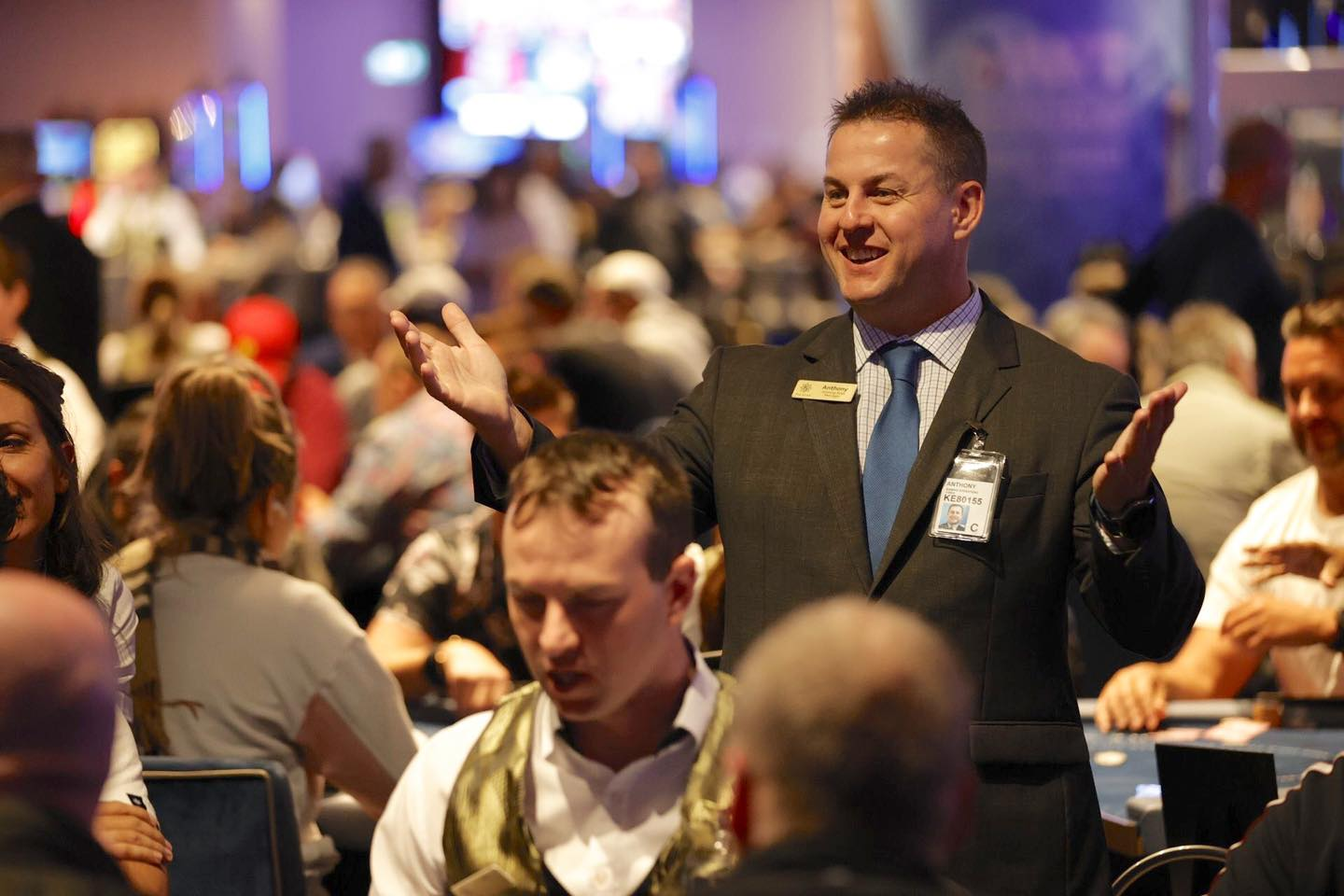 Hussein Hassan leads after Day 1A of WPTDeepStacks Gold Coast