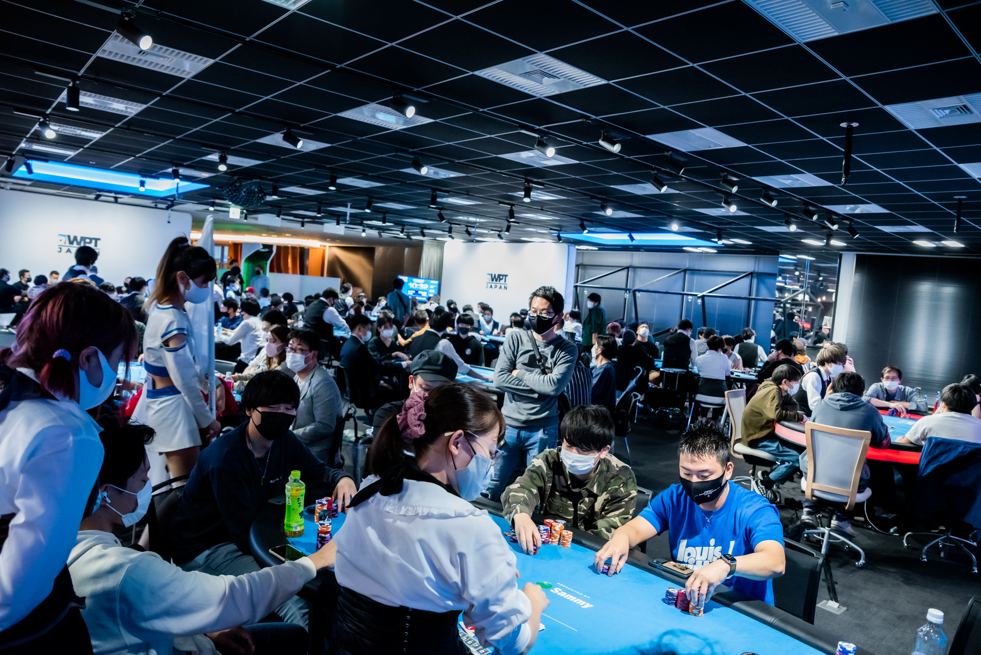 43 of record 1,291 field still in contention for WPT Japan title